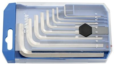 Unior Ključevi imbus u plastičnoj kutiji - 220/3PB1