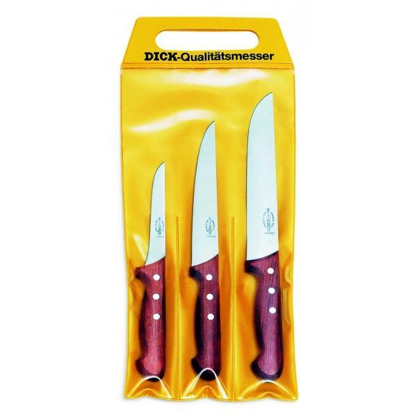 Dick set noževa s drvenom ručkom