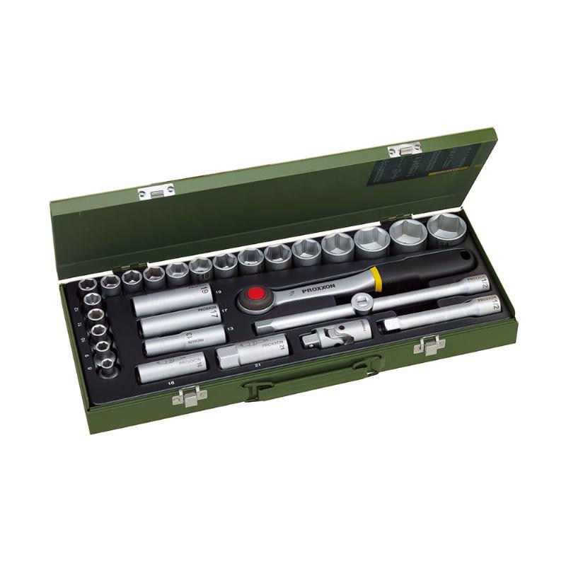 "Proxxon 23000 Garnitura nasadnih ključeva 1/2"" 8-34 mm"