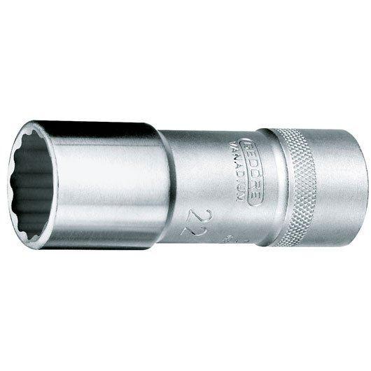 Gedore D 19 L (mm) Ključ nasadni dvanaesterokutni 1/2