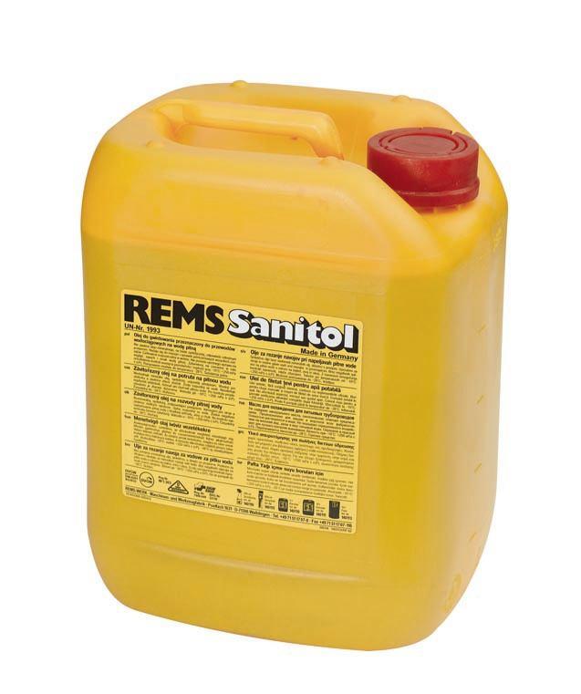 REMS 140110 Emulzija/Ulje Kanistar Sanitol 5l